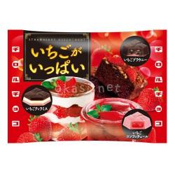 [겨울한정] 딸기브라우니&딸기티라미스맛 최강 딸기 초코! 치로루 딸기 한가득 7개입