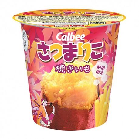 겨울한정! 가루비 쟈가리코 군고구마맛 버전 사츠마리코
