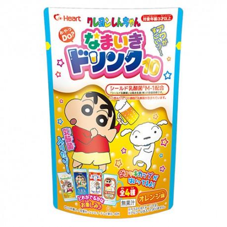 하트 크레용신짱 짱구 나마이끼 드링크10 (4종 랜덤발송)