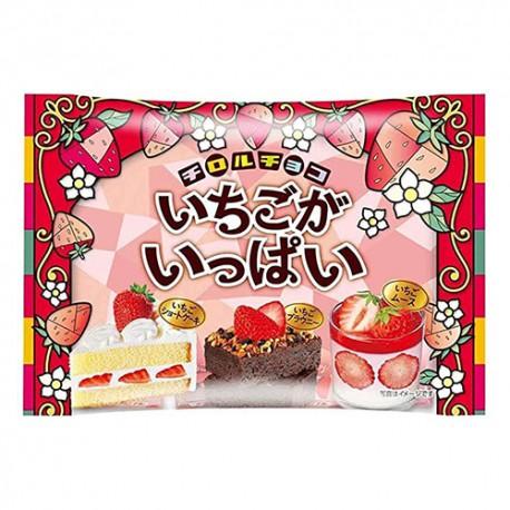 치로루초코 딸기 한가득