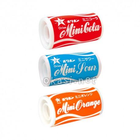 알갱이 라무네 사탕! 오리온 6가지맛 미니캔 시리즈